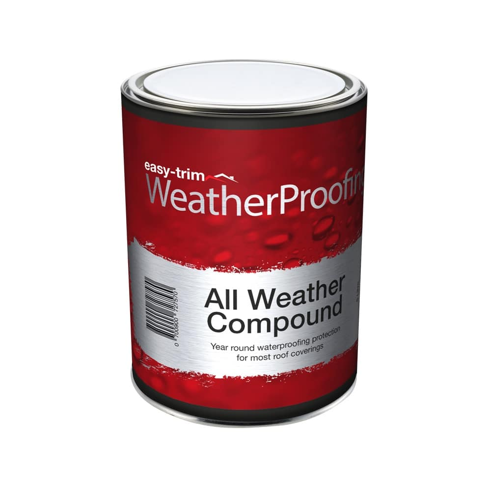 All Weather Compound Easy Trim 174 Roofing Amp Construction