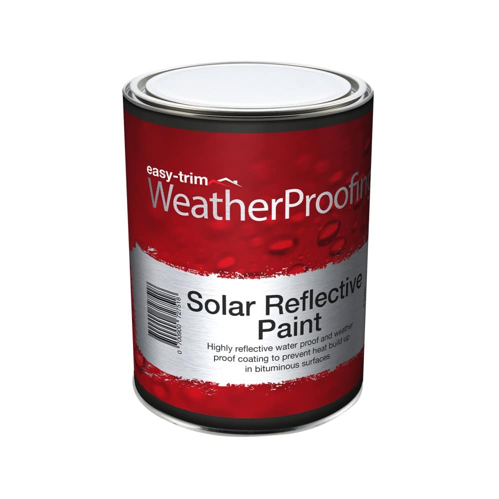Solar Reflective Paint Easy Trim 174 Roofing Amp Construction