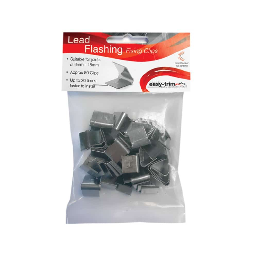 Lead Flashing Fixing Clips
