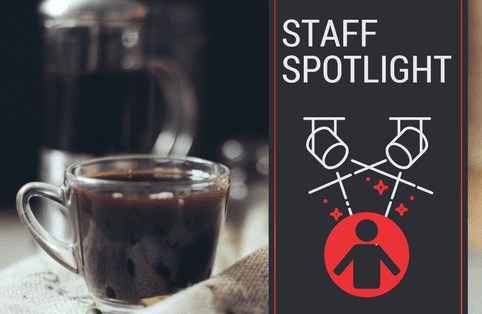 Staff Spotlight: 20 Questions by the Easy-trim coffee machine with…