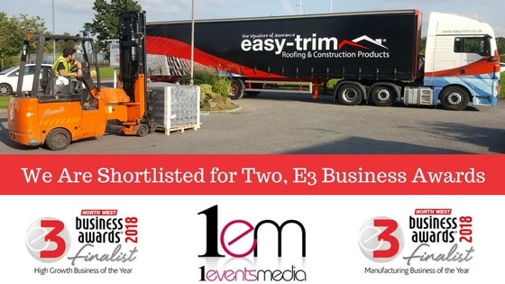 Easy-Trim Shortlisted for Two 2018 E3 Business Awards