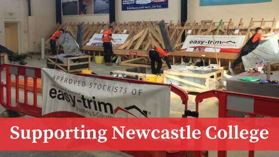 Our Investment in the Future: Supporting Apprenticeships at Newcastle College - easy-trim® Roofing & Construction Products