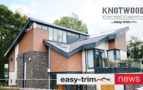 Easy-trim sign exclusive deal for Knotwood Cladding and Decking as part of their Lifestyle brand