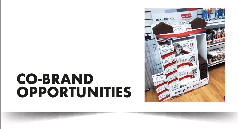 Co-Brand opportunities available